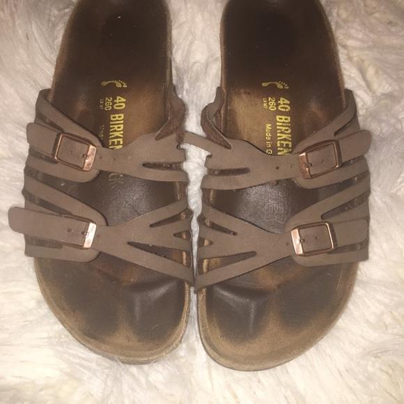 5921efb0900 Birkenstock Shoes - Brown Birkenstocks